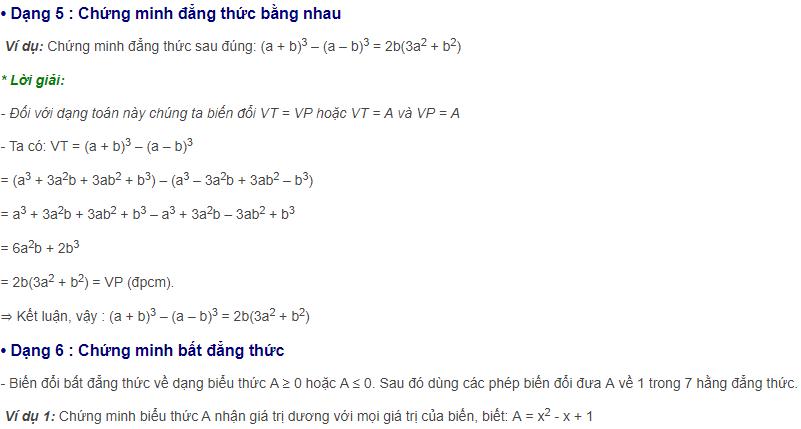 7 hằng đẳng thức cơ bản và đáng nhớ hình ảnh 3