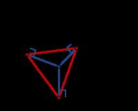 định nghĩa hình chiếu trong tam giác