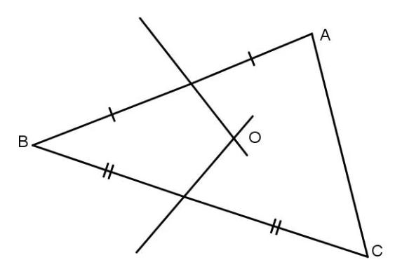 bài tập định nghĩa đường trung trực của đoạn thẳng