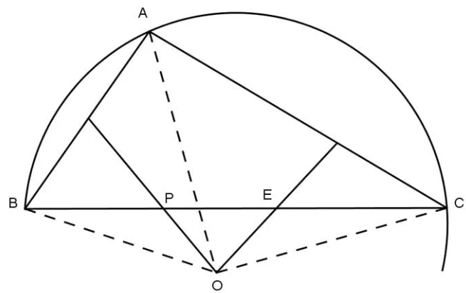 dạng toán định nghĩa đường trung trực của đoạn thẳng