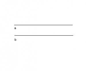 định nghĩa đường thằng và hình ảnh đường thẳng