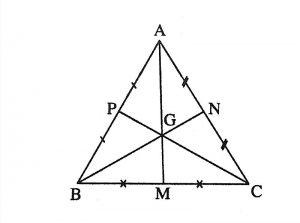 định nghĩa đường trung trực của tam giác và đường trung trực của tam giác cân