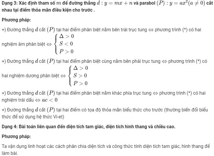 phương pháp giải phương trình parabol