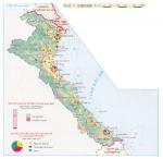 vùng bắc Trung bộ trên bản đồ địa lý việt nam