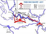 lược đồ trận đánh sông như nguyệt trong cuộc kháng chiến chống quân xâm lược tống