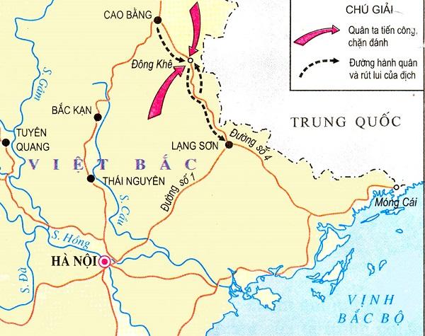 diễn biến chiến tháng biên giới thu đông 1950