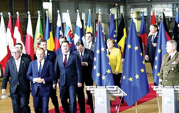 hội nghị thượng đỉnh của liên minh châu âu