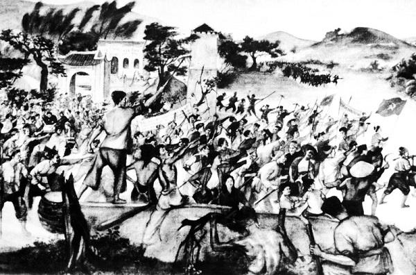 đấu tranh trong phong trào Xô viết Nghệ Tĩnh