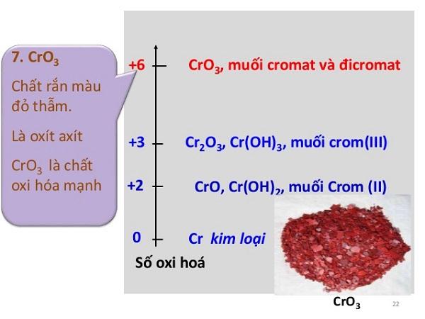 cro3 là oxit gì