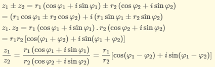 lý thuyết về cách tìm hiểu số phức
