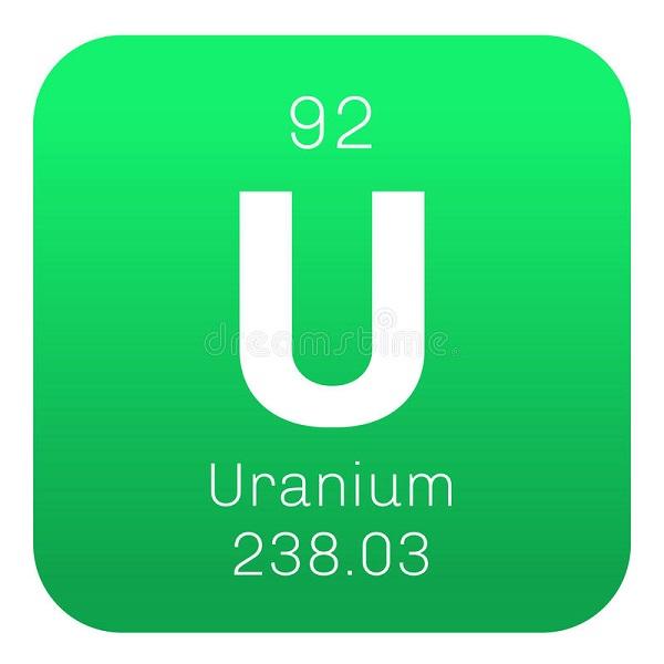 uranium là gì, kí hiệu hóa học