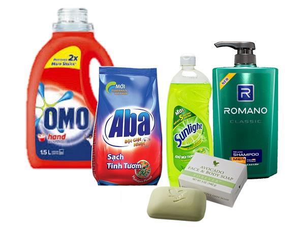 chất giặt rửa tổng hợp và hình ảnh minh họa
