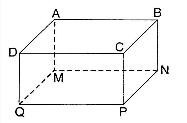 hình hộp chữ nhật cũng là một hình lăng trụ đứng