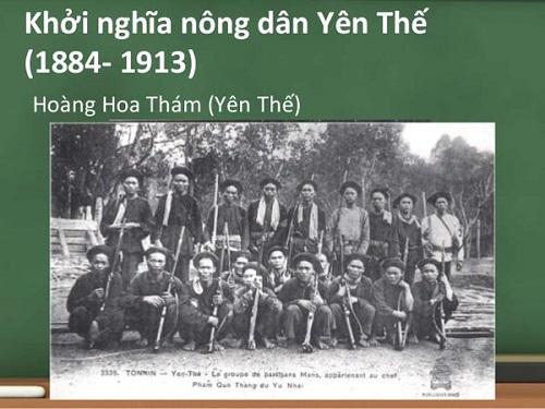 khởi nghĩa yên thế lịch sử 11 từ năm 1884 đến năm 1913