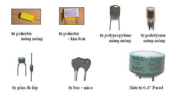 tụ điện phẳng là gì và các loại tụ điện phẳng