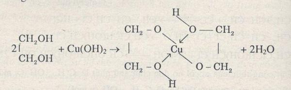 etylen glicol là gì và phản ứng của etylen glicon với hidroxit đồng