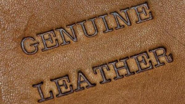 khái niệm genuine leather là gì