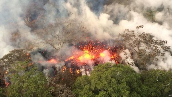 núi lửa là gì, phân loại và tác hại của núi lửa