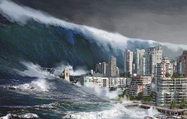 sóng thần là gì và nguyên nhân hình thành sóng thần