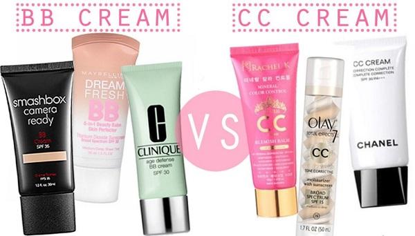 khái niệm bb cc cream là gì