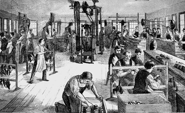 hệ quả của cách mạng công nghiệp ở châu âu
