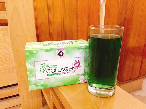 diệp lục collagen là gì và cách sử dụng diệp lục collagen