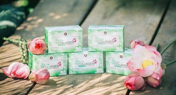 tác dụng của diệp lục collagen là gì
