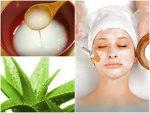 điều trị nám da mặt tại nhà bằng nha đam và nước vo gạo