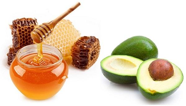 điều trị nám da mặt với mật ong và bơ