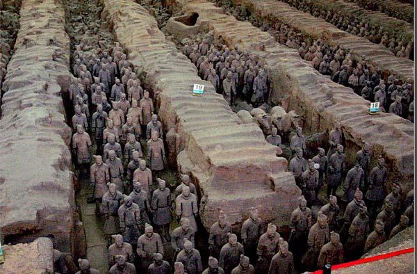 lịch sử trung quốc thời phong kiến và lăng mộ Tần Thủy Hoàng