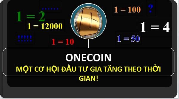 khái niệm onecoin là gì
