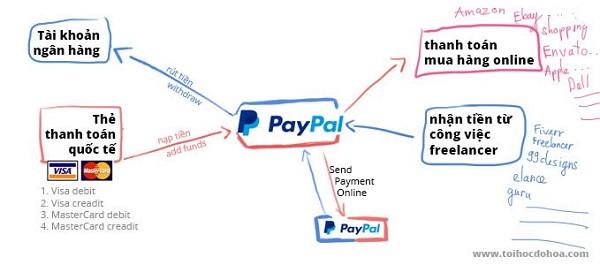 tính năng của paypal là gì