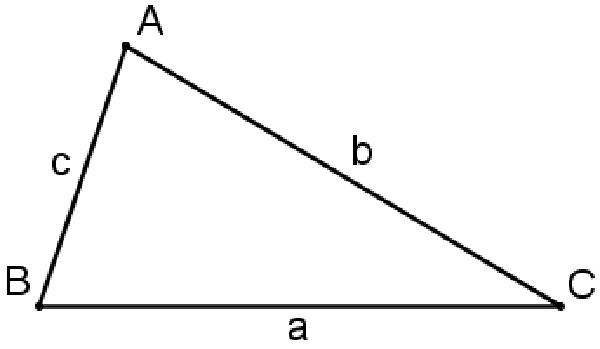 định lý cosin với hệ thức lượng trong tam giác