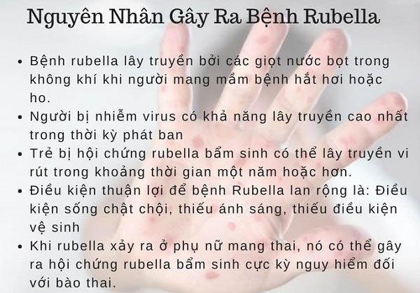 rubella là bệnh gì và nguyên nhân gây bệnh rubella