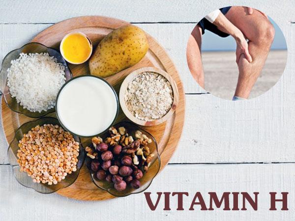 vitamin h là gì và hình ảnh minh họa