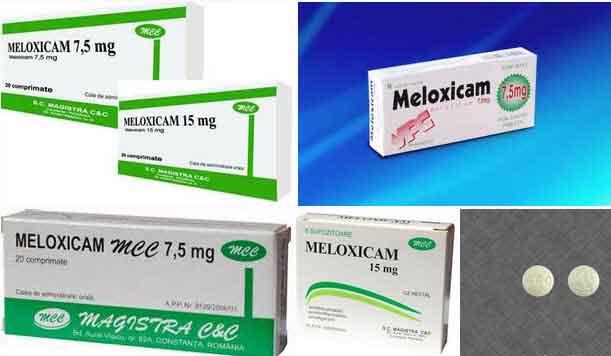 tìm hiểu về meloxicam là thuốc gì