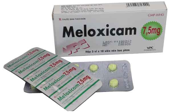 meloxicam là thuốc gì và những lưu ý khi sử dụng