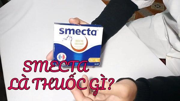 tìm hiểu smecta là thuốc gì