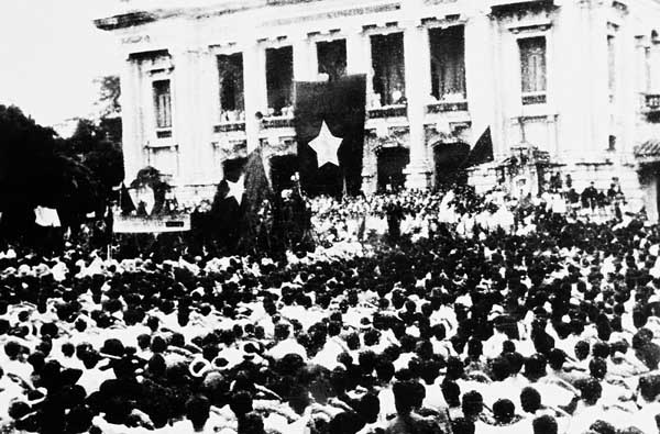nghệ thuật tranh thủ thuận lợi trong và ngoài nước của đảng ta trong thời cơ của cách mạng tháng 8