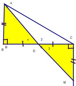 bài tập chứng minh 3 điểm thẳng hàng