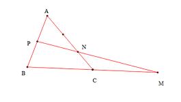 cách chứng minh 3 điểm thẳng hàng điển hình