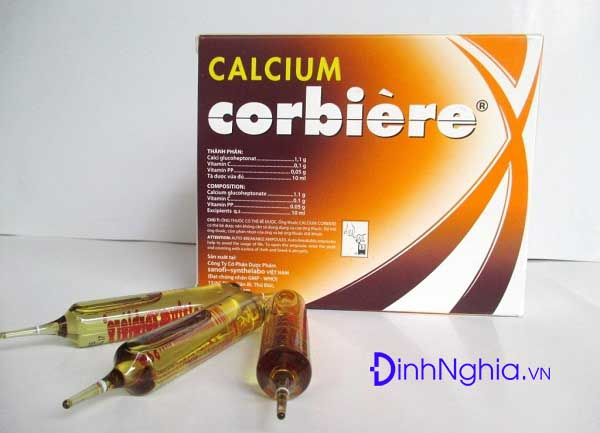 calcium corbiere là thuốc gì và tác dụng như nào