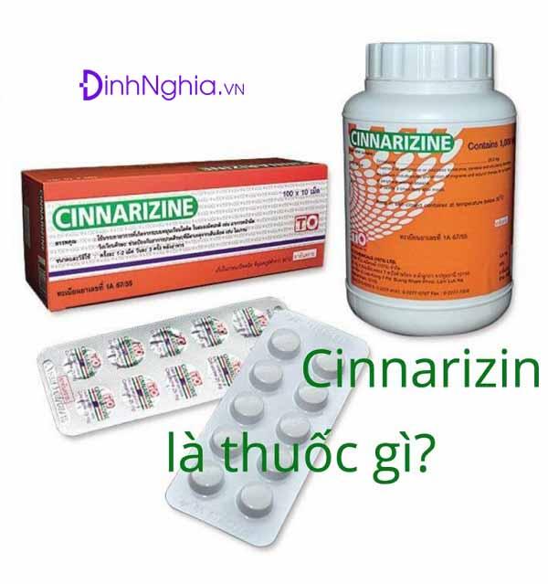 tìm hiểu cinnarizin là thuốc gì