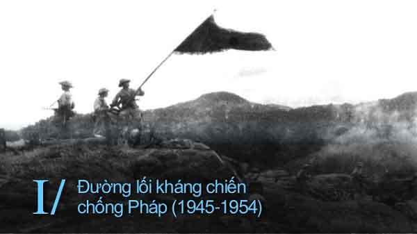 đường lối kháng chiến chống thực dân pháp 1946-1954 và hình ảnh minh họa