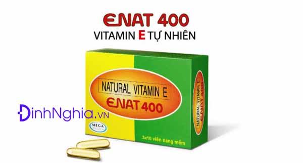 tìm hiểu về enat 400 là thuốc gì