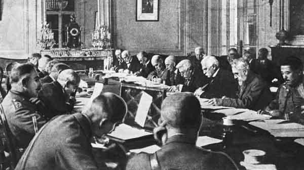 nội dung của hòa ước versailles