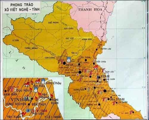 diễn biến của phong trào cách mạng 1930 đến 1931