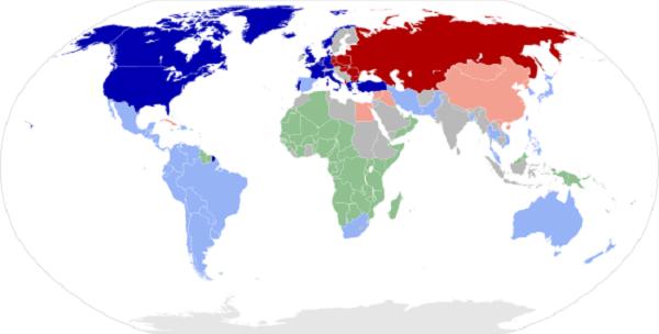 quan hệ quốc tế sau chiến tranh lạnh và hình ảnh minh họa