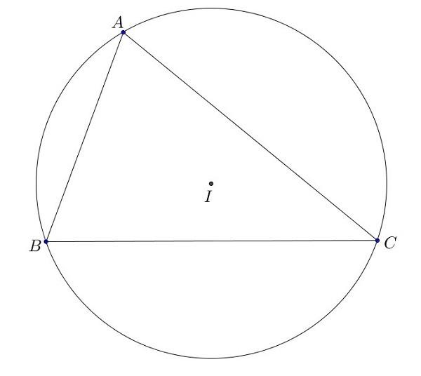 cách xác định tâm đường tròn ngoại tiếp tam giác