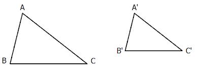 định nghĩa hai tam giác đồng dạng